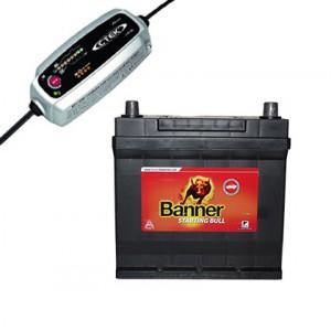 Batteries et chargeur