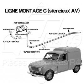 AIDE AU CHOIX LIGNE ECHAPPEMENT MONTAGE C