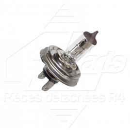 AMPOULE H4 CULOT CODE EUROPEEN BLANC 12V  60/55W