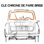 CLEF CHROME DE PARE BRISE