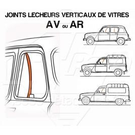 JOINTS LECHEURS VERTICAUX DE VITRES AV OU AR