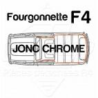 JONC CHROME TOUR DE TOIT R4 4L F4