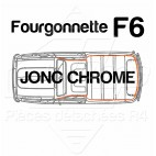 JONC CHROME TOUR DE TOIT R4 4L F6