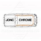 JONC CHROME TOUR DE TOIT R4 4L BERLINE