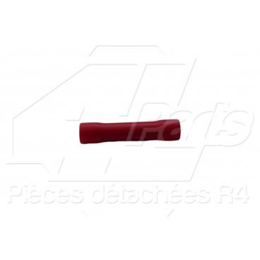 MANCHON DE RACCORDEMENT 0,5-1,5mm² ROUGE