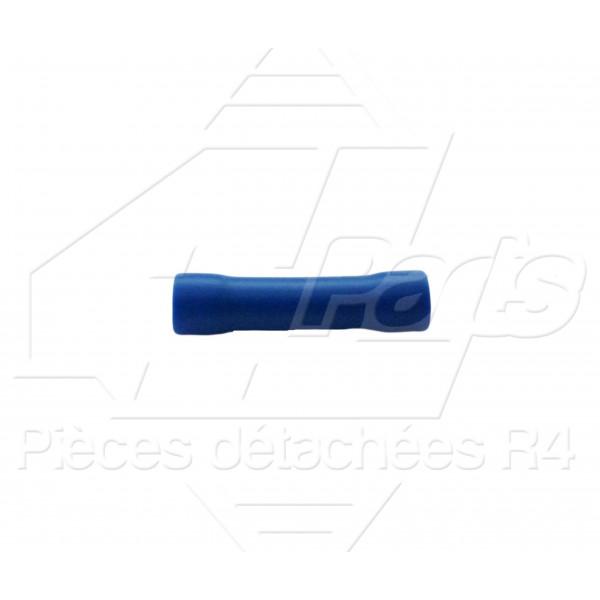 MANCHON DE RACCORDEMENT 1,5-2,5mm² BLEU