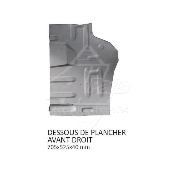 DESSOUS DE PLANCHER AVANT DROIT
