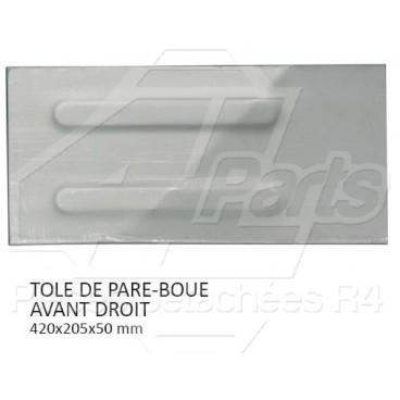 TOLE DE PARE BOUE AVANT DROIT