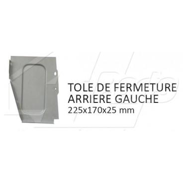 TOLE DE PARE BOUE ARRIERE GAUCHE