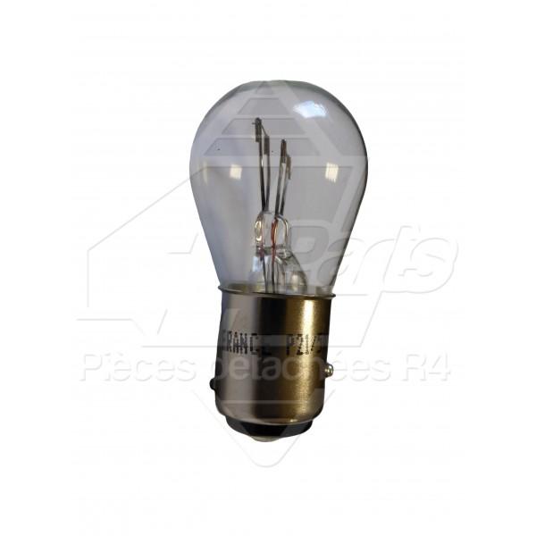 ampoule stop 2 filaments 12v p21 5w 4l parts. Black Bedroom Furniture Sets. Home Design Ideas