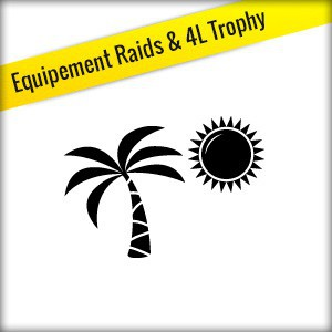 Equipements Raid & 4L TROPHY