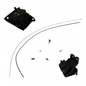 Supports moteur / câble accélérateur