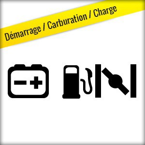 Démarrage / Carburation / Charge